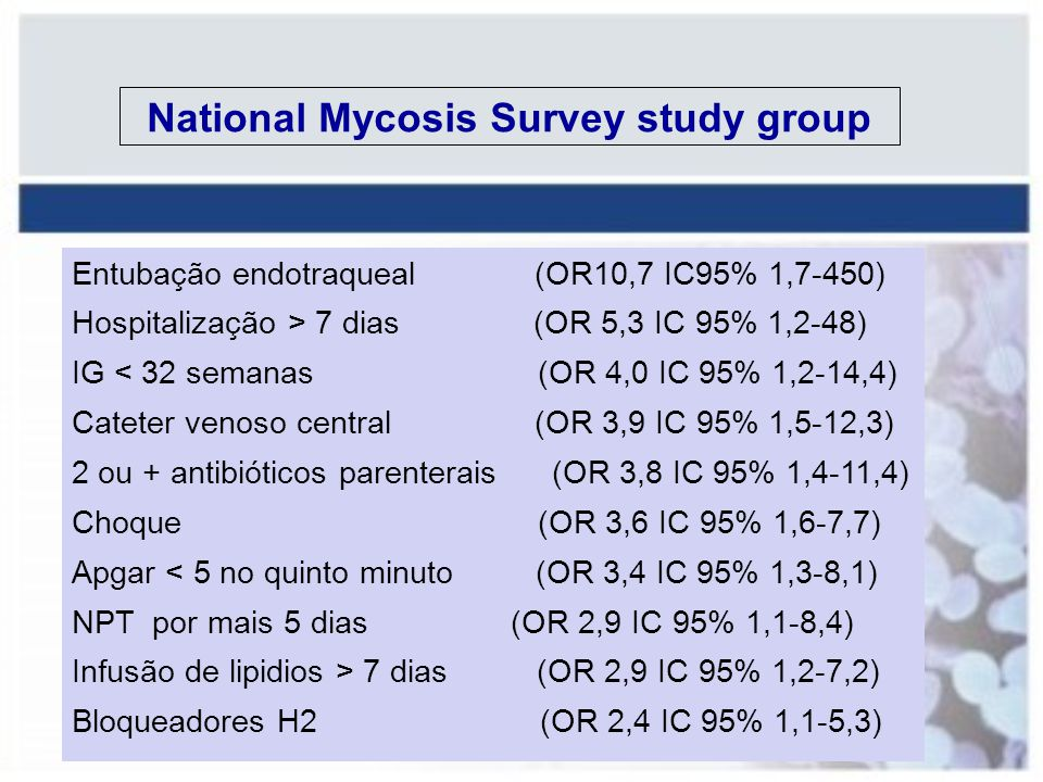 National Mycosis Survey study group