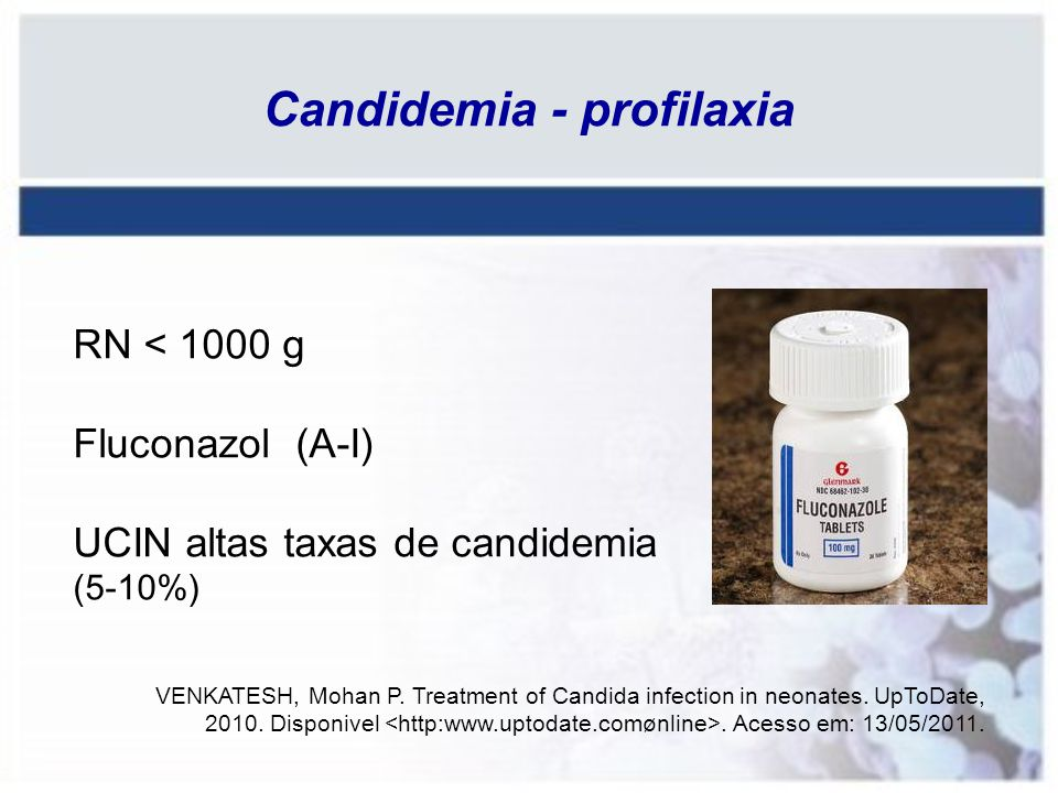 Candidemia - profilaxia