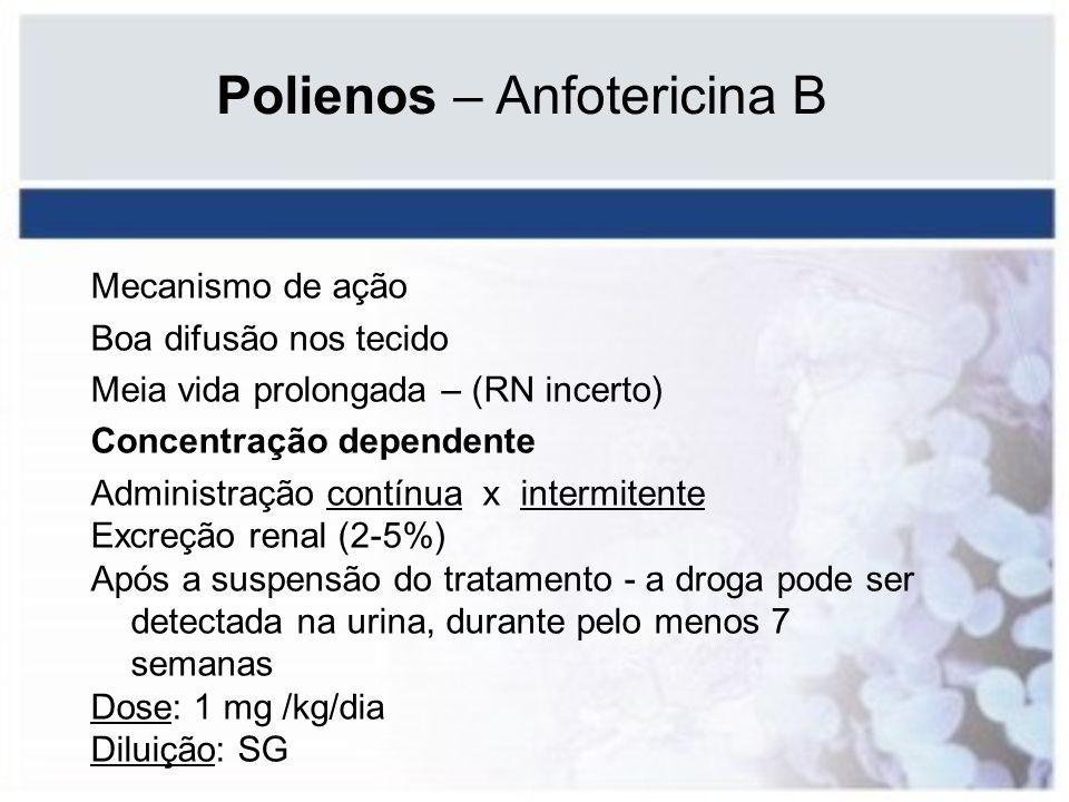 Polienos – Anfotericina B