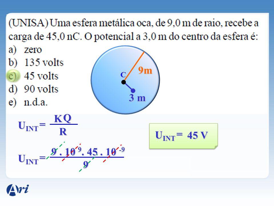 9m C 3 m K Q UINT = R UINT = 45 V 9 . 10 9 . 45 . 10 -9 UINT = 9