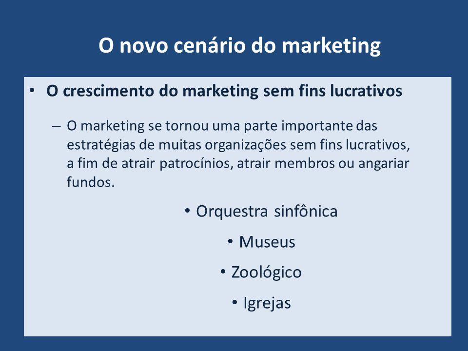 O novo cenário do marketing
