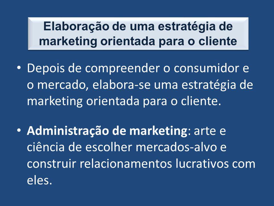 Elaboração de uma estratégia de marketing orientada para o cliente