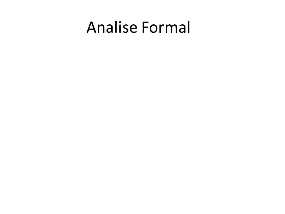 Analise Formal
