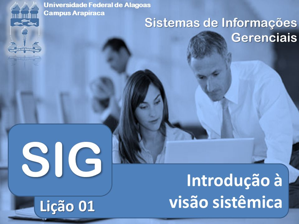 SIG Introdução à visão sistêmica Lição 01