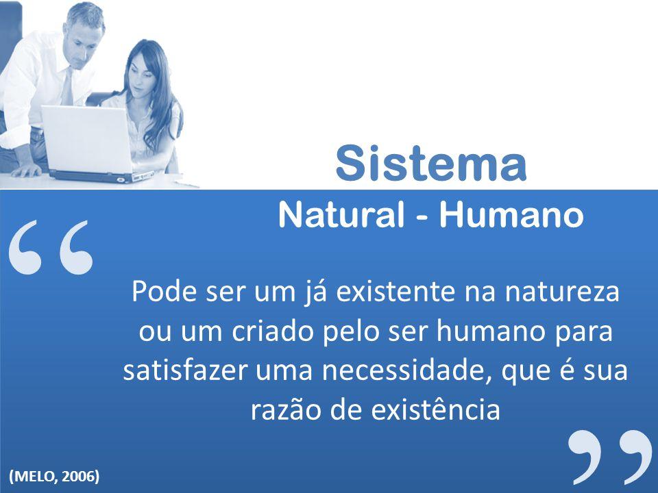 Sistema Natural - Humano