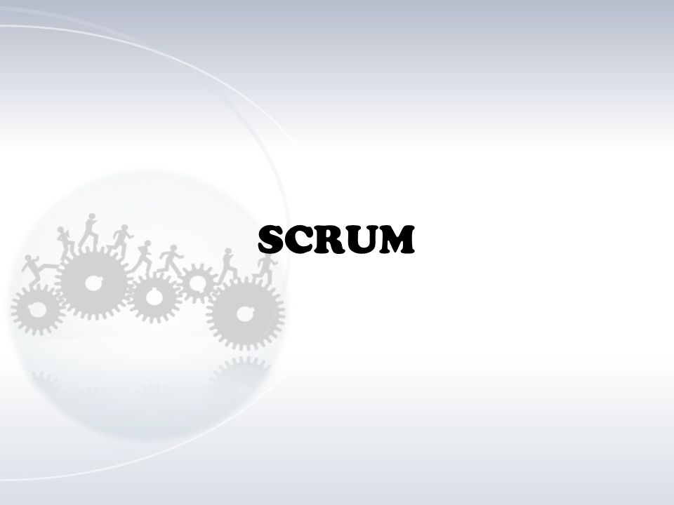 SCRUM Half Circle (Advanced)