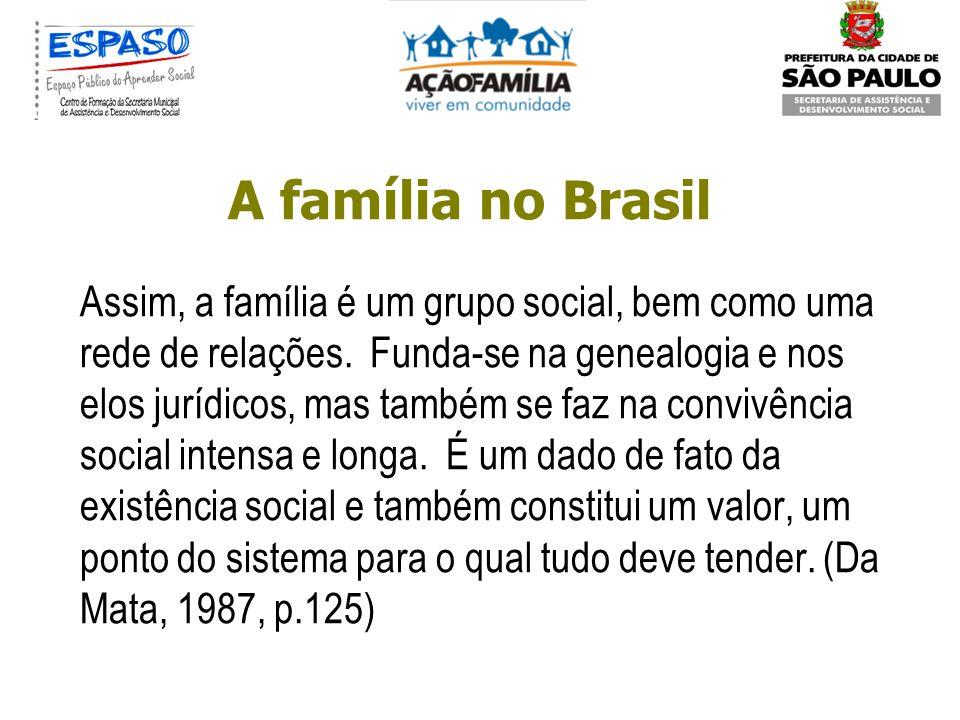 A família no Brasil