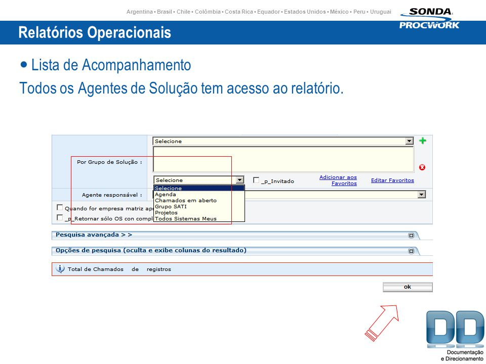Relatórios Operacionais