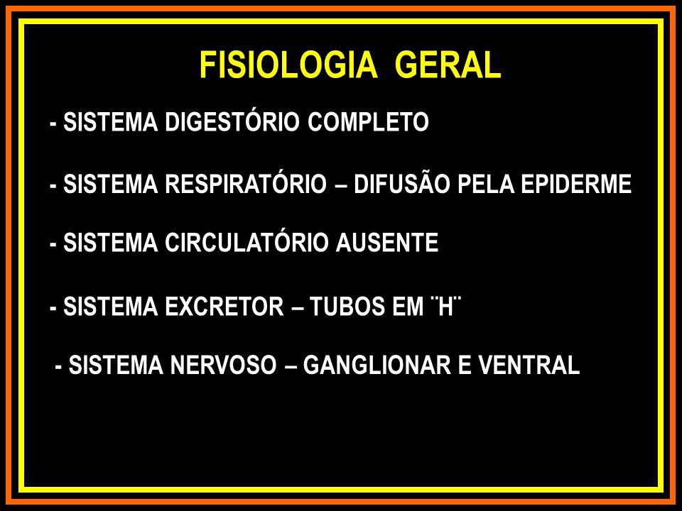 FISIOLOGIA GERAL - SISTEMA DIGESTÓRIO COMPLETO