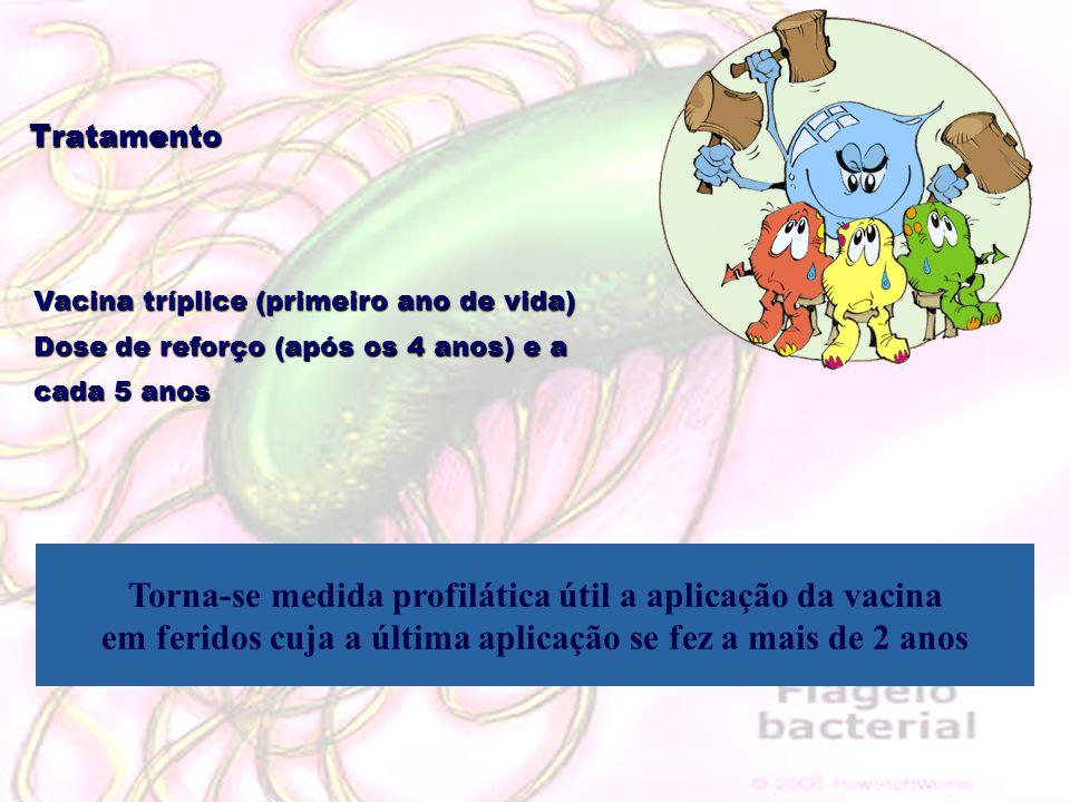 Torna-se medida profilática útil a aplicação da vacina
