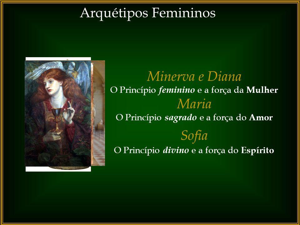 Arquétipos Femininos Minerva e Diana Maria Sofia
