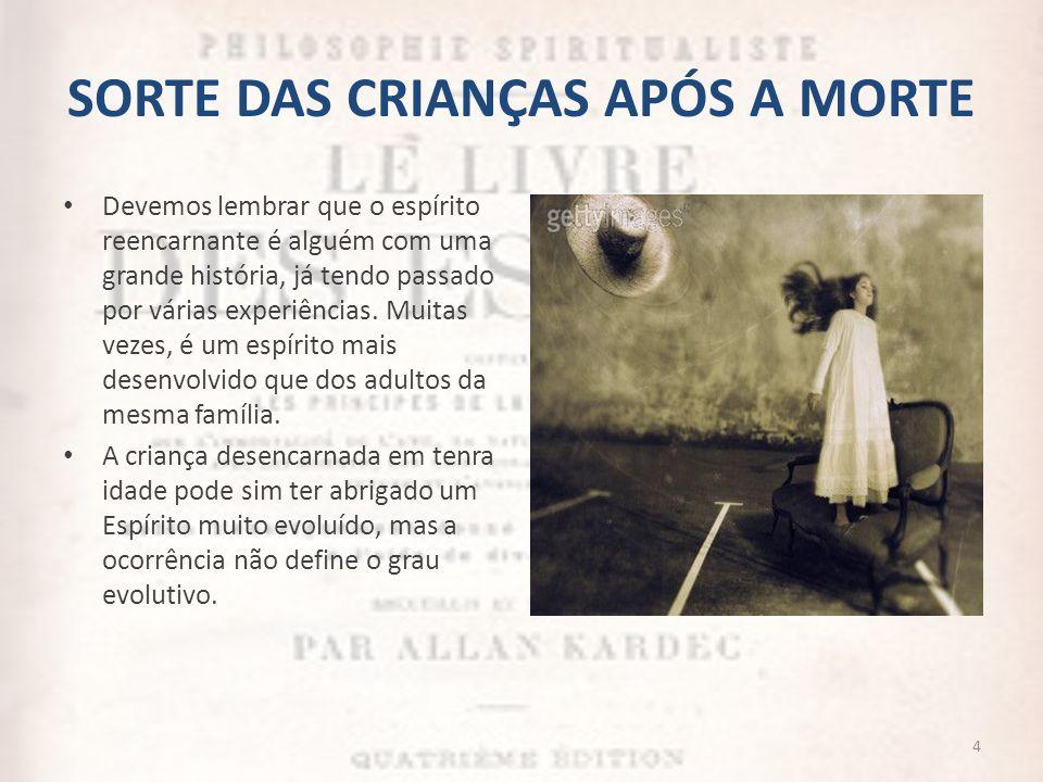 SORTE DAS CRIANÇAS APÓS A MORTE