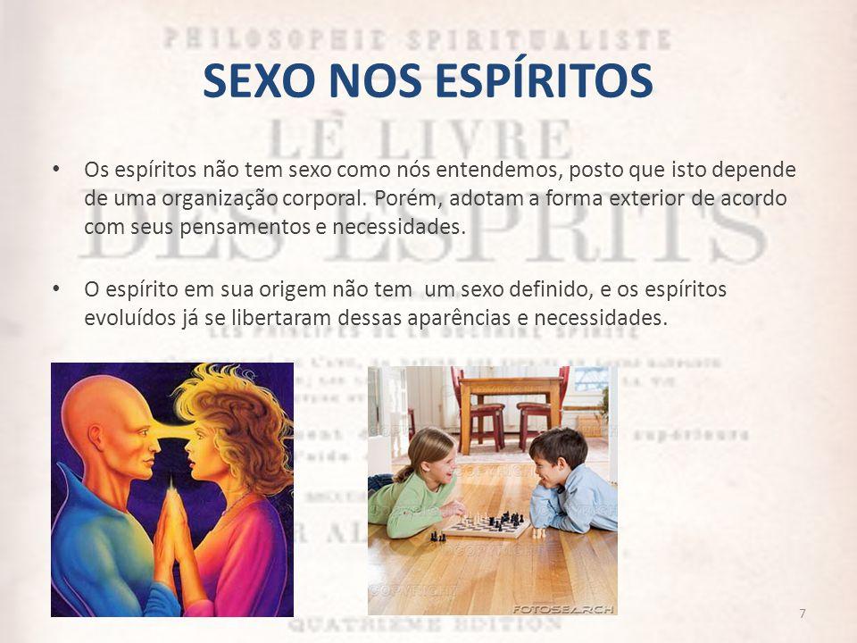 SEXO NOS ESPÍRITOS