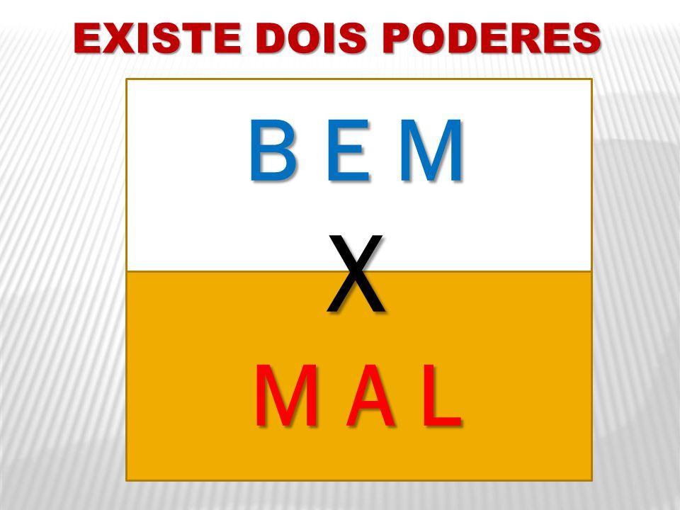 EXISTE DOIS PODERES B E M X M A L