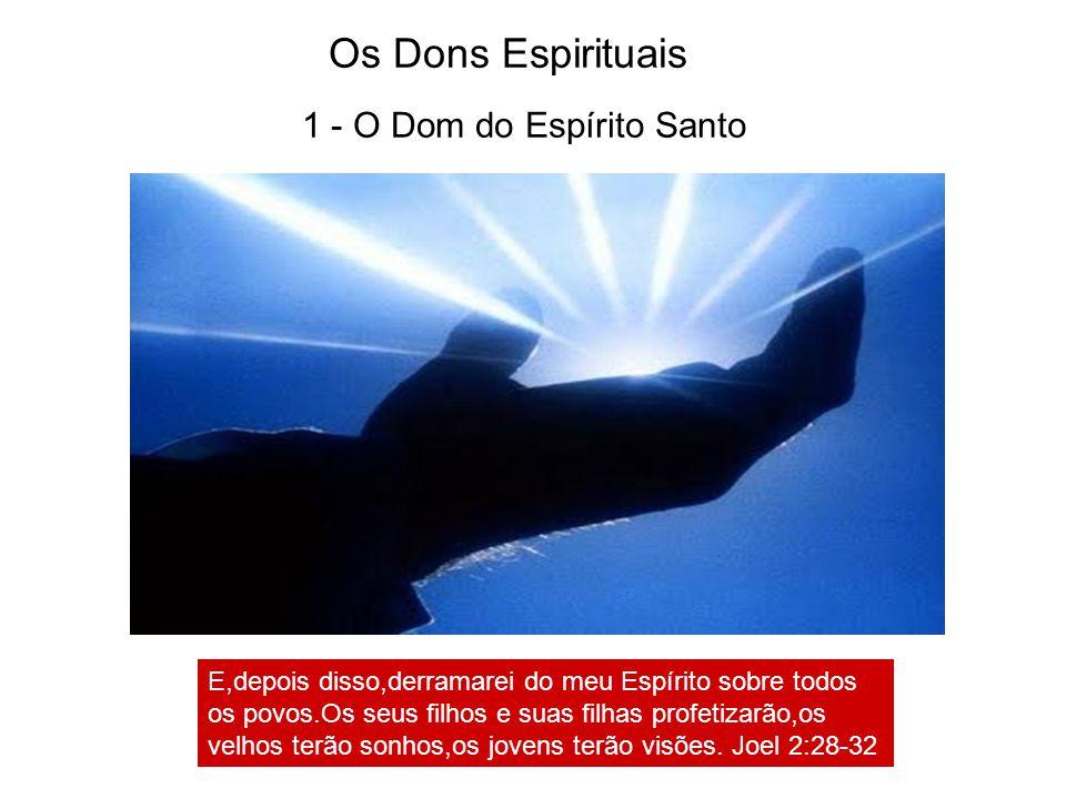 Os Dons Espirituais 1 - O Dom do Espírito Santo