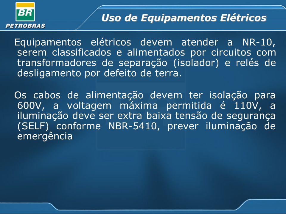 Uso de Equipamentos Elétricos