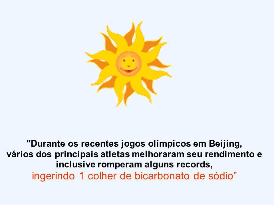 Durante os recentes jogos olímpicos em Beijing,