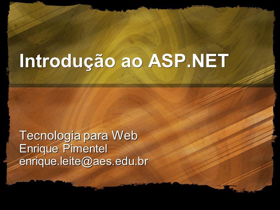 Tecnologia para Web Enrique Pimentel enrique.leite@aes.edu.br
