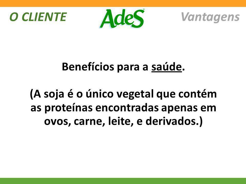 Benefícios para a saúde.