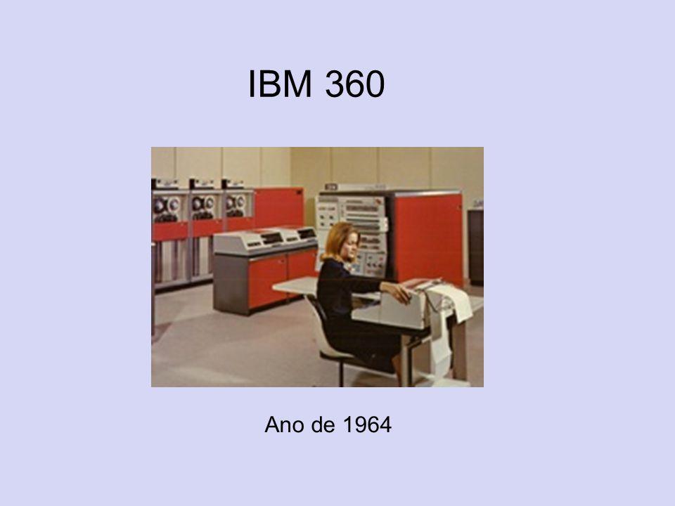 IBM 360 Ano de 1964
