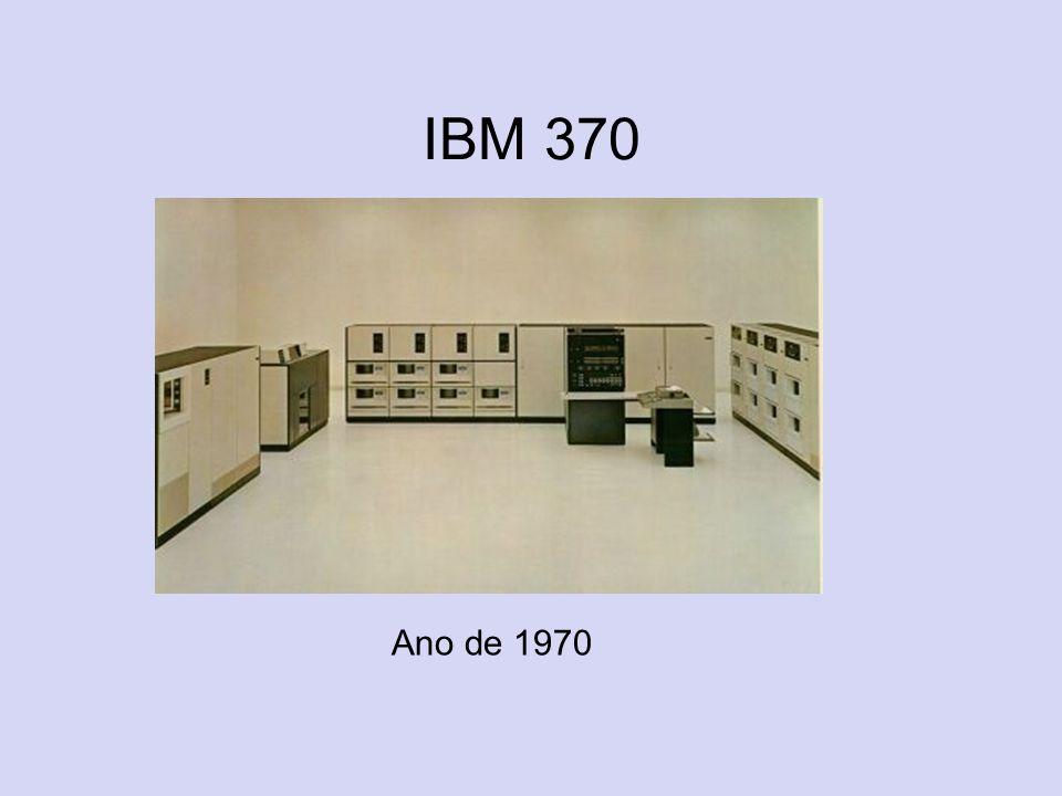 IBM 370 Ano de 1970