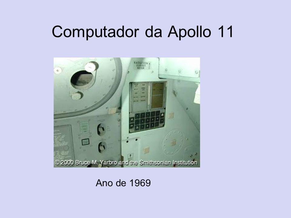 Computador da Apollo 11 Ano de 1969