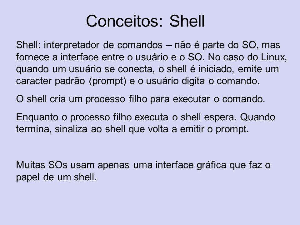 Conceitos: Shell