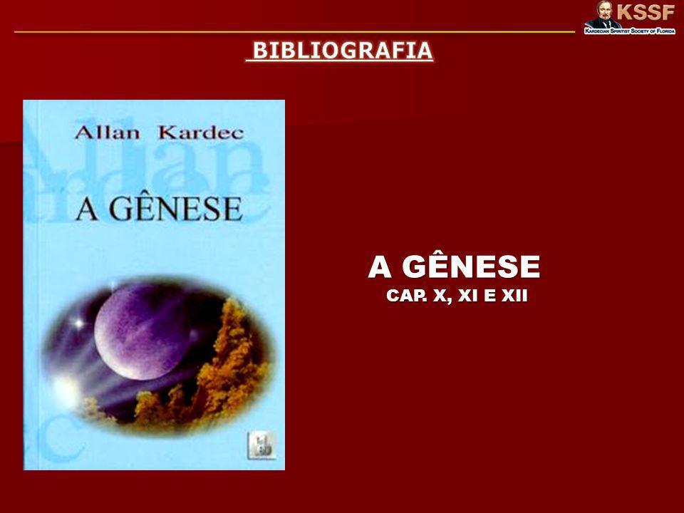 BIBLIOGRAFIA A GÊNESE CAP. X, XI E XII