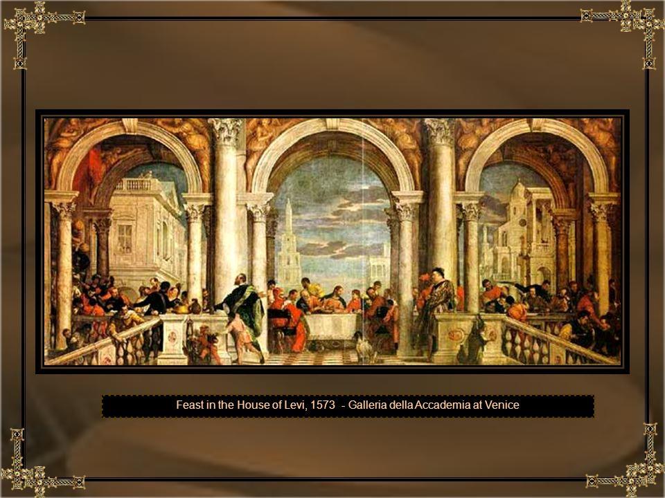 Feast in the House of Levi, 1573 - Galleria della Accademia at Venice