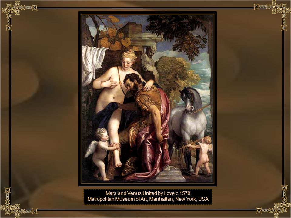 Mars and Venus United by Love c.1570