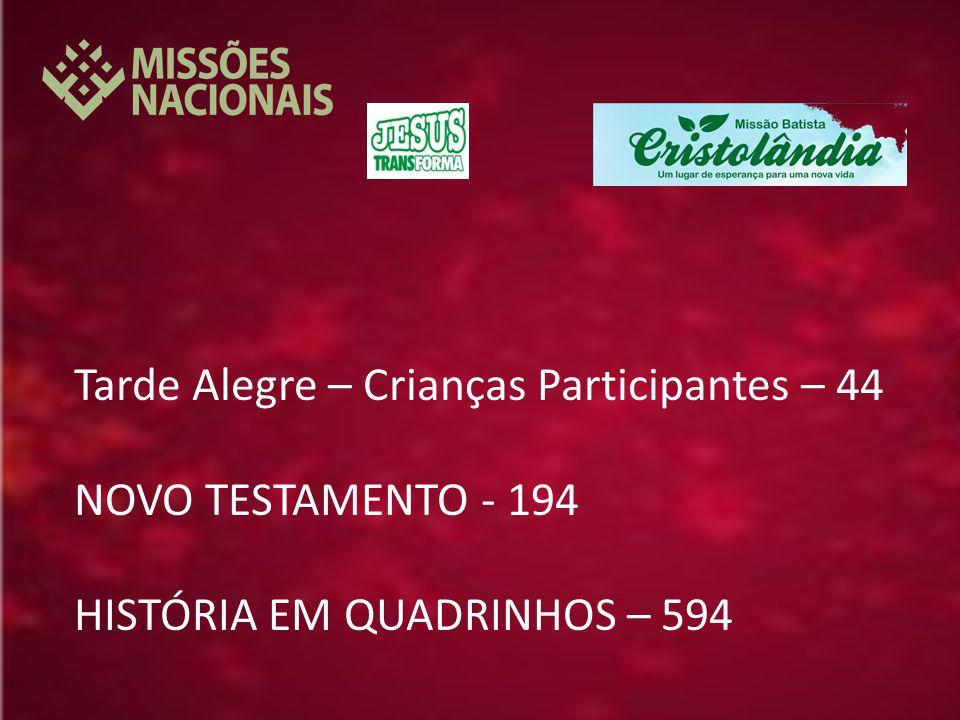 Tarde Alegre – Crianças Participantes – 44