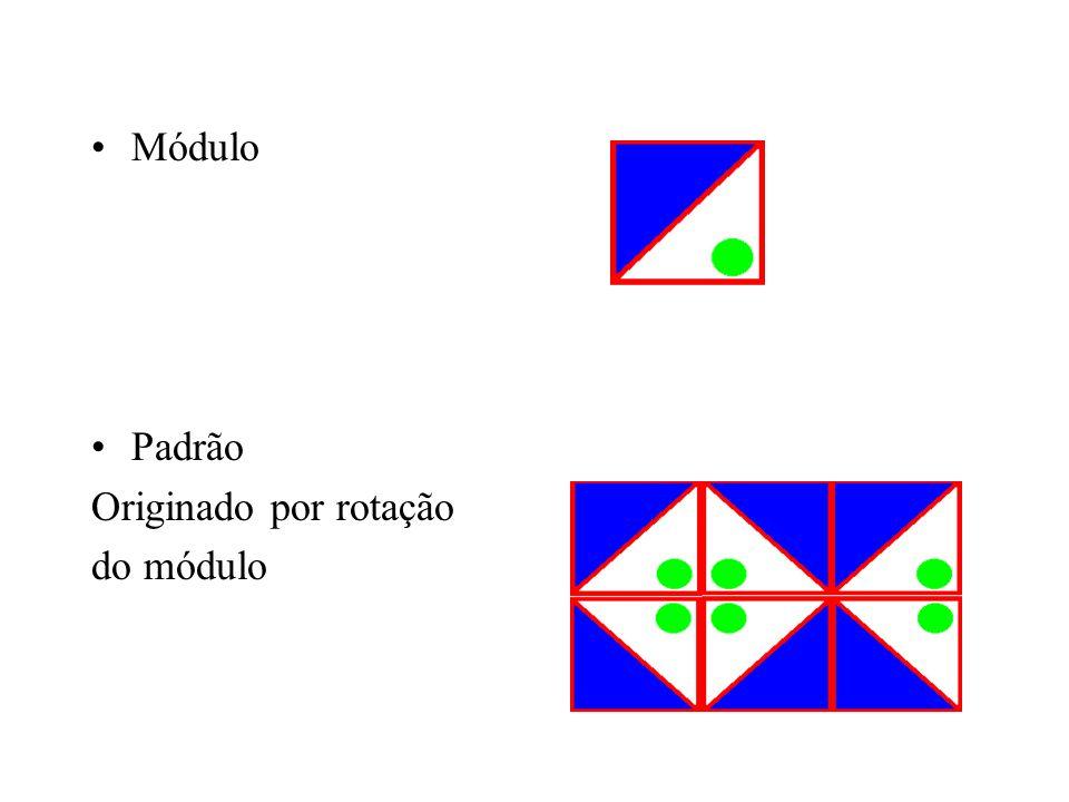 Módulo Padrão Originado por rotação do módulo