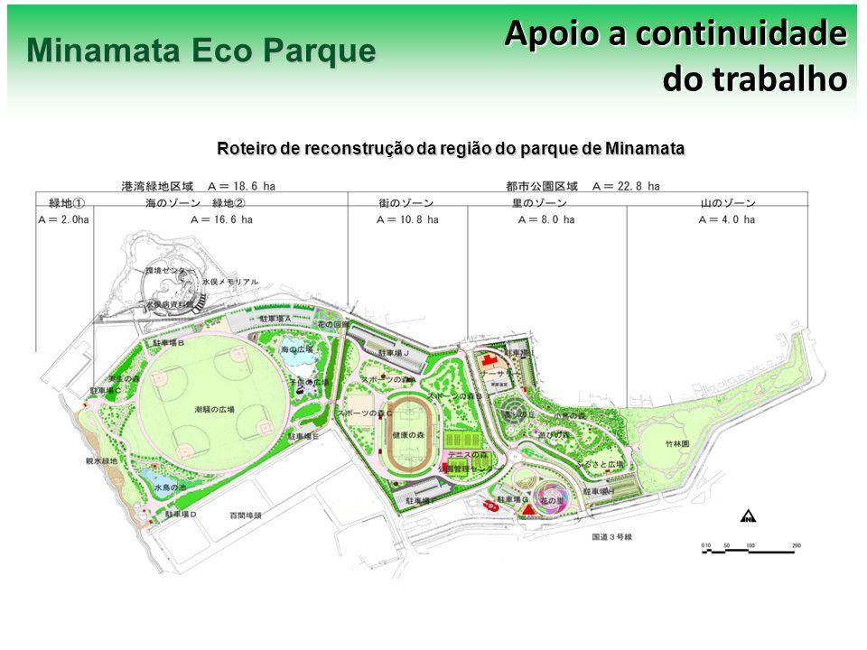Roteiro de reconstrução da região do parque de Minamata