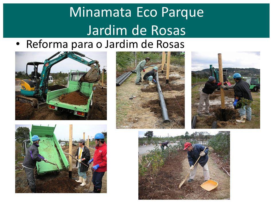 Minamata Eco Parque Jardim de Rosas
