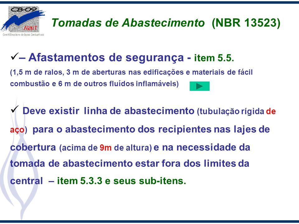 Tomadas de Abastecimento (NBR 13523)