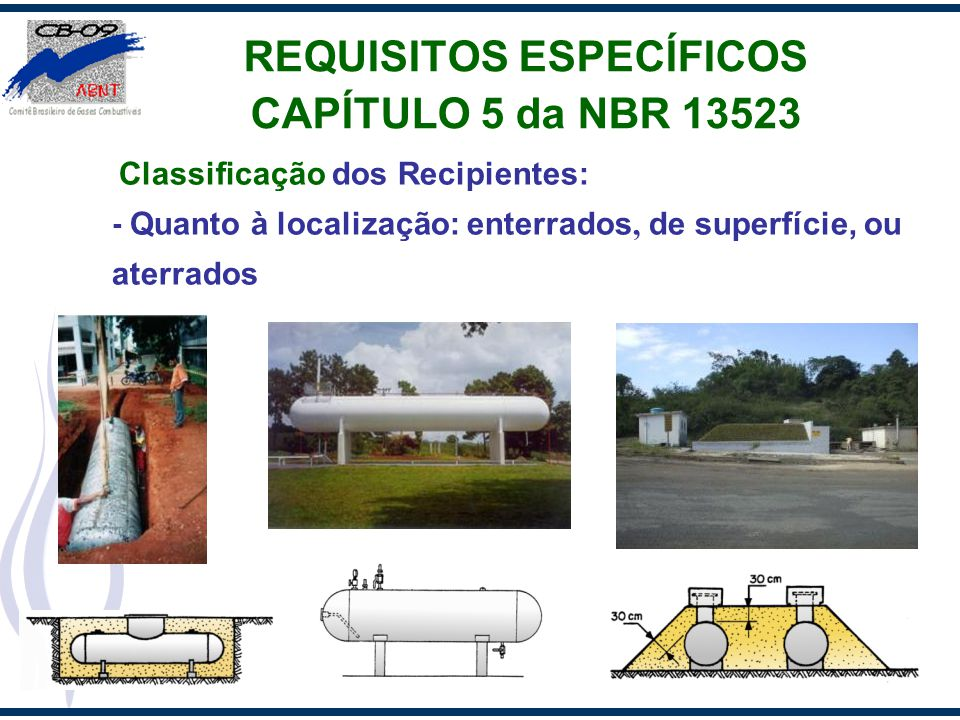 REQUISITOS ESPECÍFICOS CAPÍTULO 5 da NBR 13523