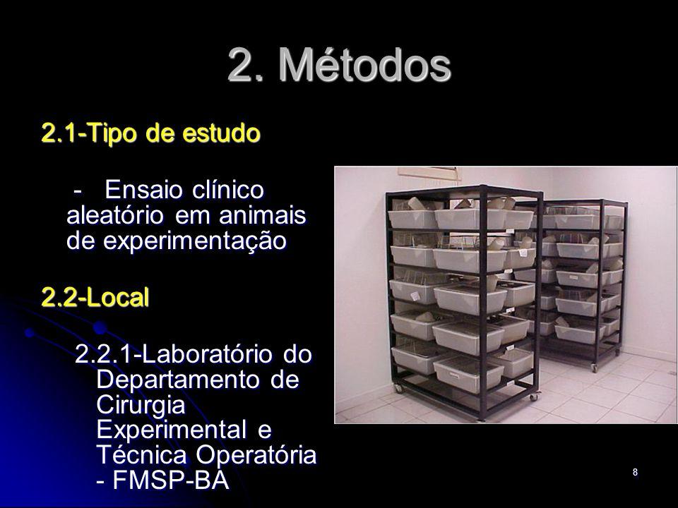 2. Métodos 2.1-Tipo de estudo