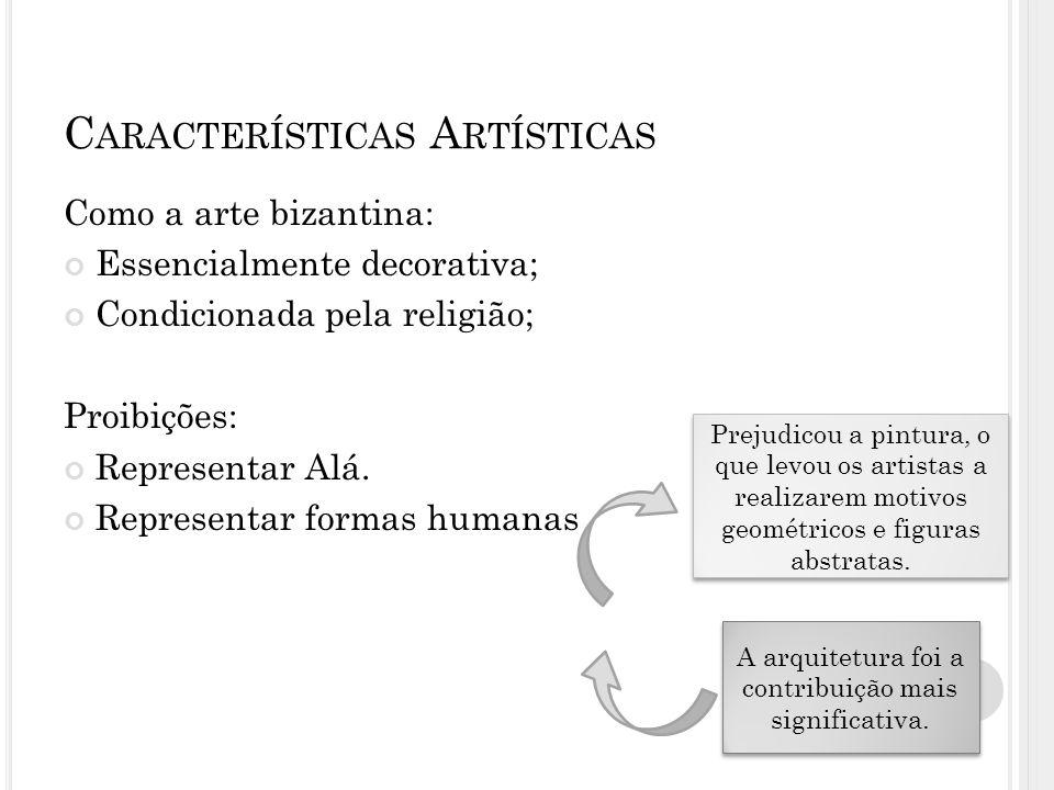Características Artísticas