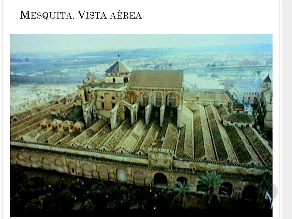 Mesquita. Vista aérea