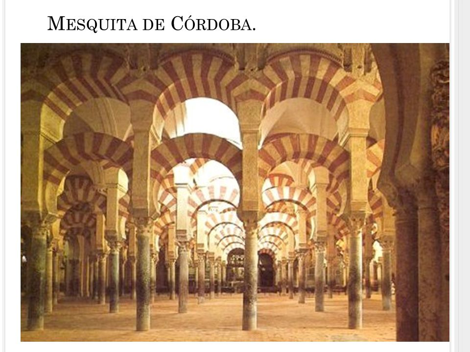Mesquita de Córdoba.