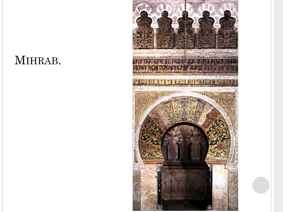 Mihrab.