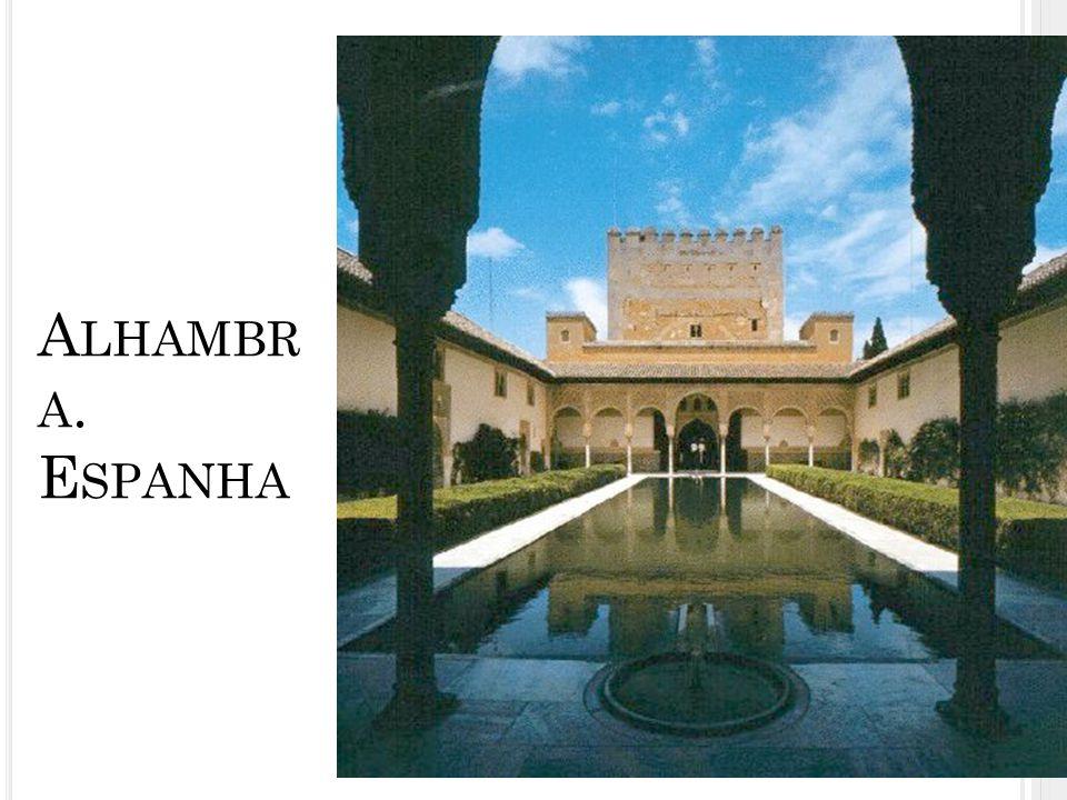Alhambra. Espanha