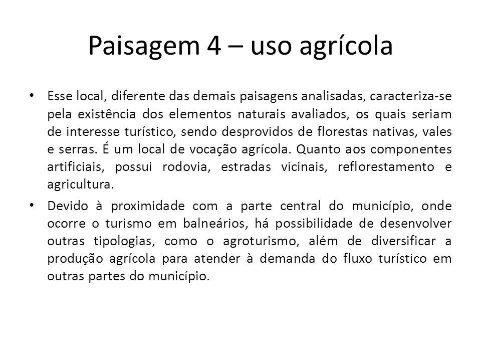 Paisagem 4 – uso agrícola