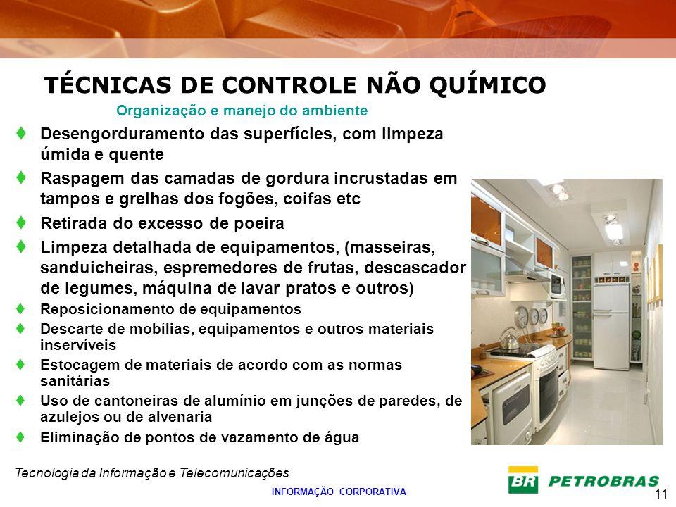 TÉCNICAS DE CONTROLE NÃO QUÍMICO