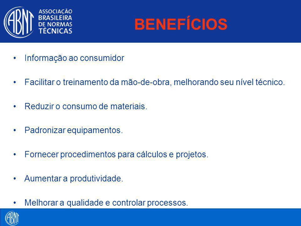 BENEFÍCIOS Informação ao consumidor