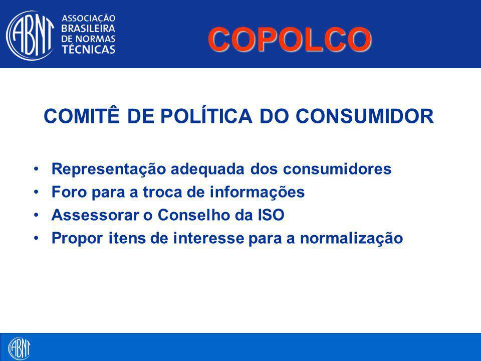 COMITÊ DE POLÍTICA DO CONSUMIDOR
