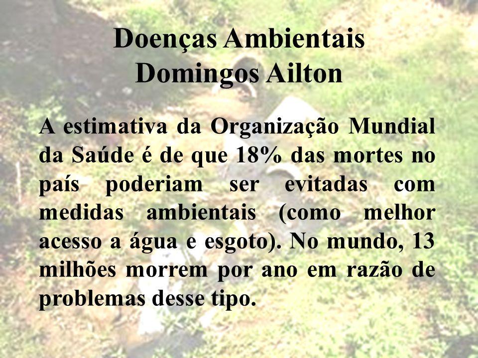 Doenças Ambientais Domingos Ailton