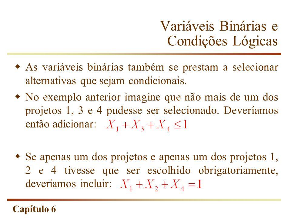 Variáveis Binárias e Condições Lógicas