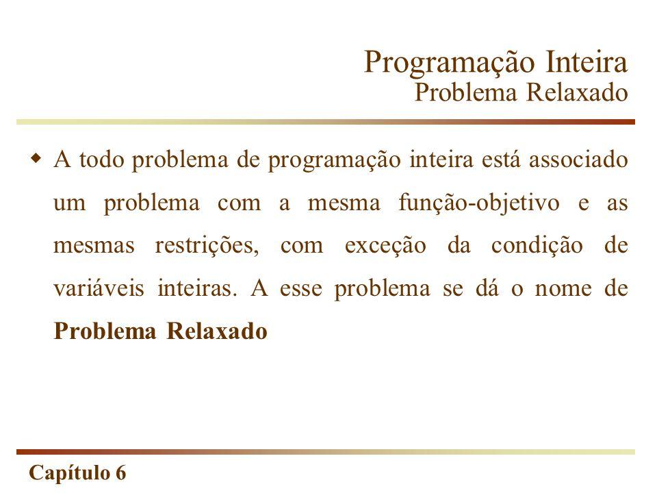 Programação Inteira Problema Relaxado