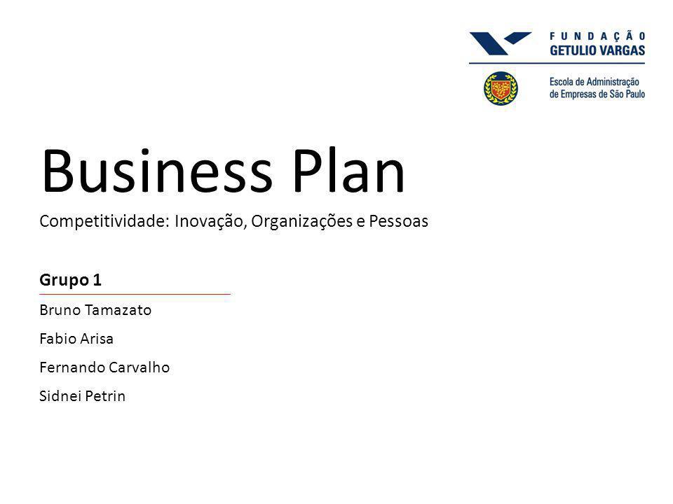 Business Plan Competitividade: Inovação, Organizações e Pessoas